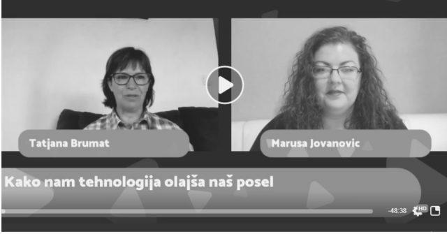 Intervju z Marušo Jovanovič